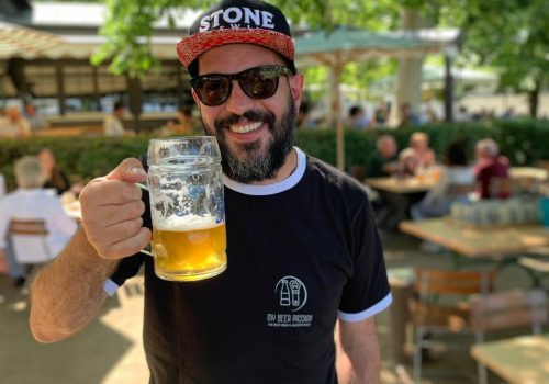 Cheers dallo Spezial Keller di Bamberga